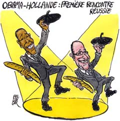 François Hollande rencontre Barack Obama en mai 2012